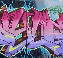 World street graffiti - random by grafhunter