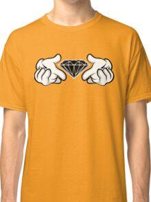 Diamond Hands Sticker Friendly Classic T-Shirt