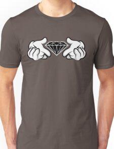 Diamond Hands Sticker Friendly Unisex T-Shirt