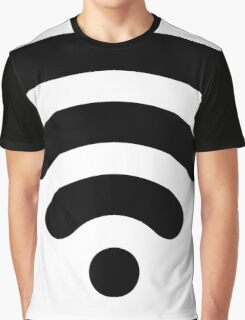 Wi-Fi Abstract Graphic T-Shirt