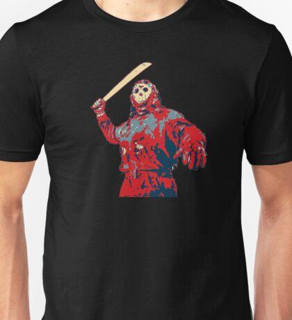 Friday the 13th Jason Vorhees Machete Chop Unisex T-Shirt