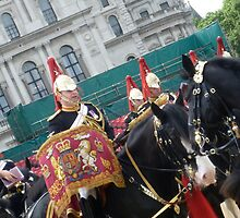 Horse Guards Parade in London by Fathers