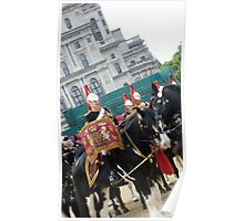 Horse Guards Parade in London Poster