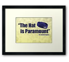 Its certainly biggest.. Framed Print