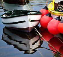 Little Boat ~ Mousehole Harbour by Susie Peek