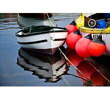 Little Boat ~ Mousehole Harbour Photographic Print