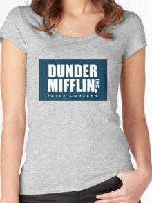 DUNDER MIFFLIN, INC Women's Fitted Scoop T-Shirt