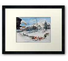 EXIT STRATEGY !! Framed Print