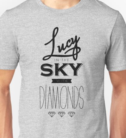 lucy with diamonds Unisex T-Shirt