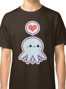 Cute Blue Octopus Classic T-Shirt