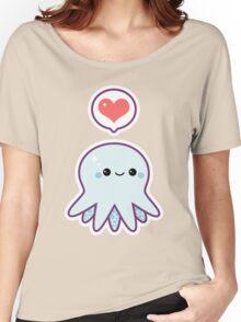Cute Blue Octopus Women's Relaxed Fit T-Shirt