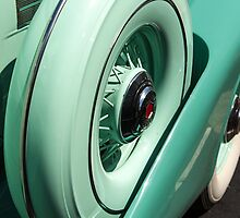 Green Curves on Packard Super 8 by Dawn Crouse