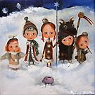Carollers by Monica Blatton