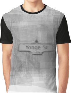 Yonge Street Sign Graphic T-Shirt