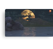 Super Lunar Canvas Print