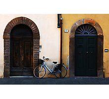 Doorways In Lucca Italy Photographic Print