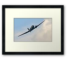 In flight. Framed Print
