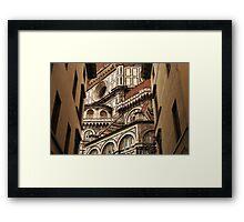 Florence The Duomo Fasade Framed Print