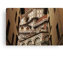 Florence The Duomo Fasade Canvas Print
