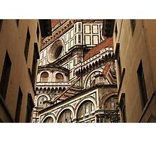 Florence The Duomo Fasade Photographic Print
