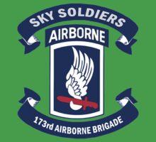173rd Airborne Brigade Combat Team Crest One Piece - Short Sleeve