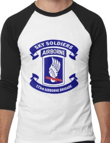 173rd Airborne Brigade Combat Team Crest Men's Baseball ¾ T-Shirt