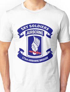 173rd Airborne Brigade Combat Team Crest Unisex T-Shirt