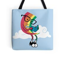 Reading Rainbow Tote Bag