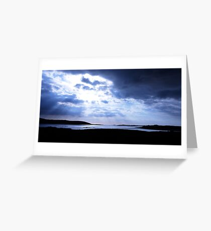 Carn Strand, Ardara, Co. Donegal Greeting Card