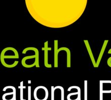 death valley national park Nevada t shirt Sticker