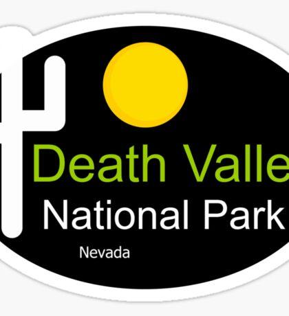 death valley national park Nevada t shirt Sticker