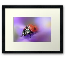 Coming... Framed Print