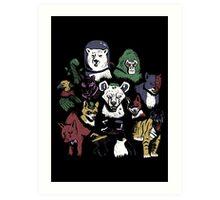 Predators of the Bat Art Print