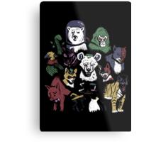 Predators of the Bat Metal Print