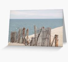 Fence repairman needed Greeting Card