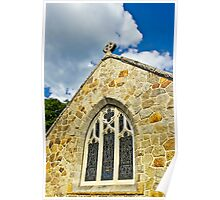 Chapel and Sky Poster