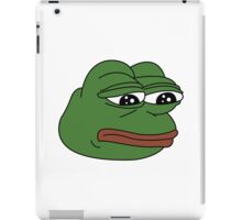 Sad Pepe - Ultra HD Edition iPad Case/Skin