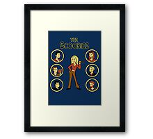 Buffy and the Scooby Gang Framed Print