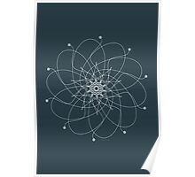 Ornament – Nightblu Blossom Poster