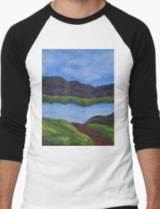 007 Landscape Men's Baseball ¾ T-Shirt