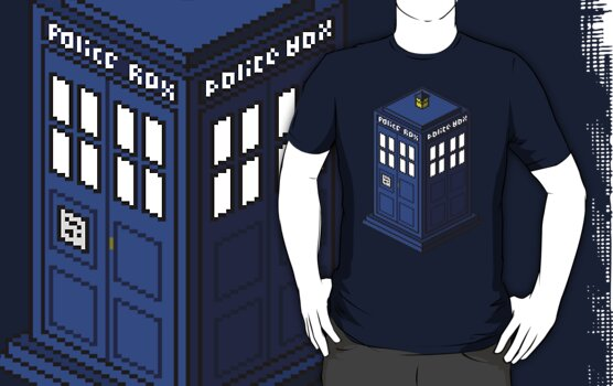 Pixel Tardis by Moose0Nub