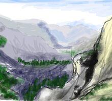 Rocky Mountains by fliberjit