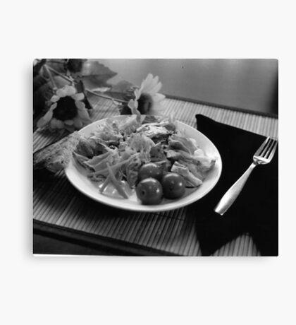 Balsalmic Salad Canvas Print