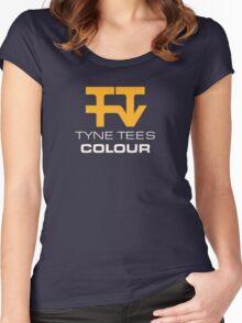 Tyne Tees regional ITV station logo Women's Fitted Scoop T-Shirt