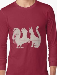 Cock Meets Pussy Long Sleeve T-Shirt