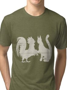 Cock Meets Pussy Tri-blend T-Shirt