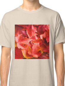 Red Leaves Classic T-Shirt