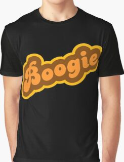 Boogie - Retro 70s - Logo Graphic T-Shirt