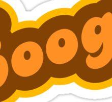Boogie - Retro 70s - Logo Sticker