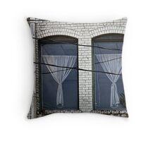Twin Windows Throw Pillow